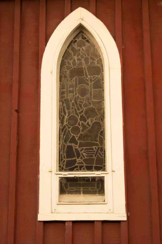 Sonora, Red Church Window
